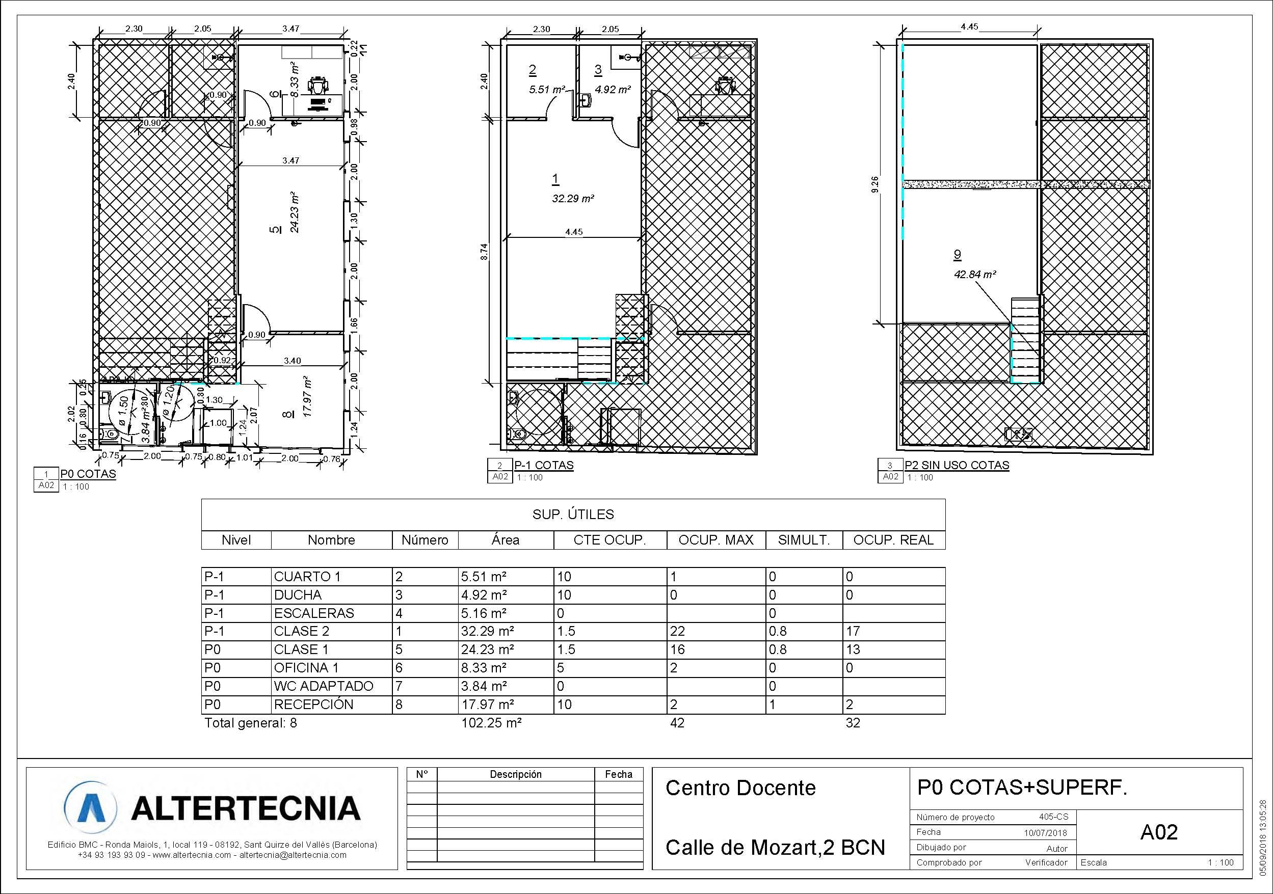 layout licencias para la escuela de Andrea Vilallonga