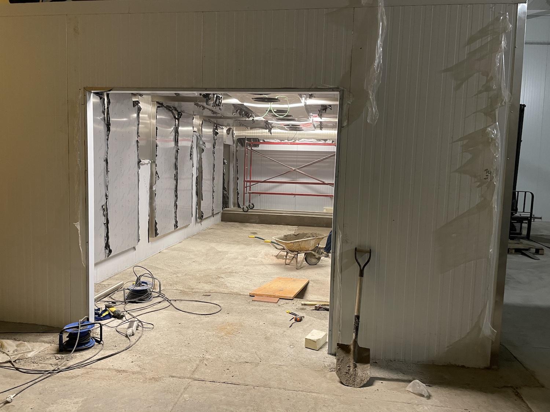 Ampliación panificadora cámara fermentación mura 4