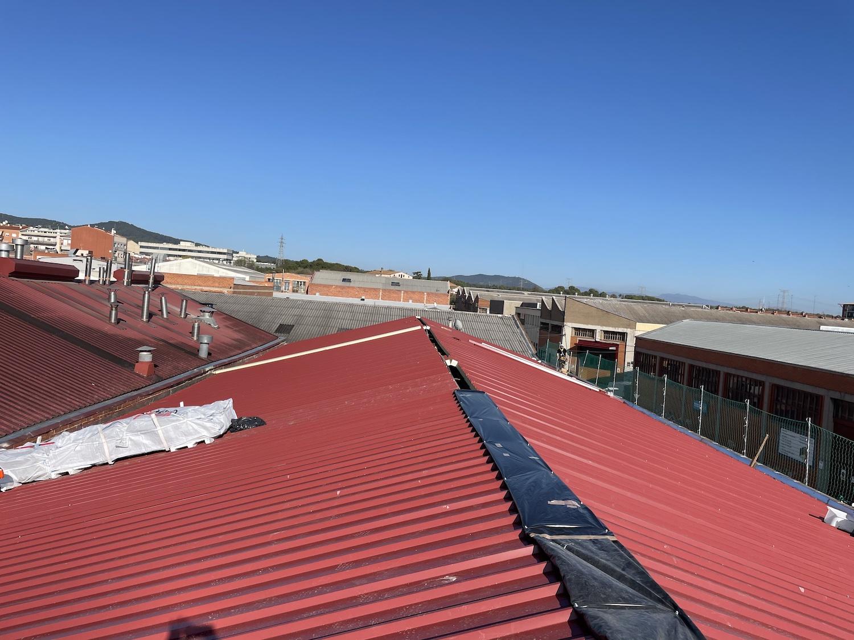Ampliación panificadora techo mura 1