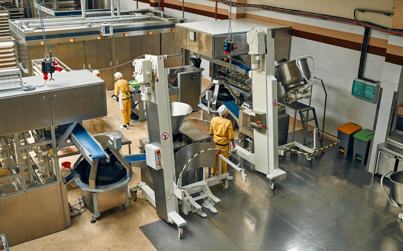 Automatización almacén panificadora industrial