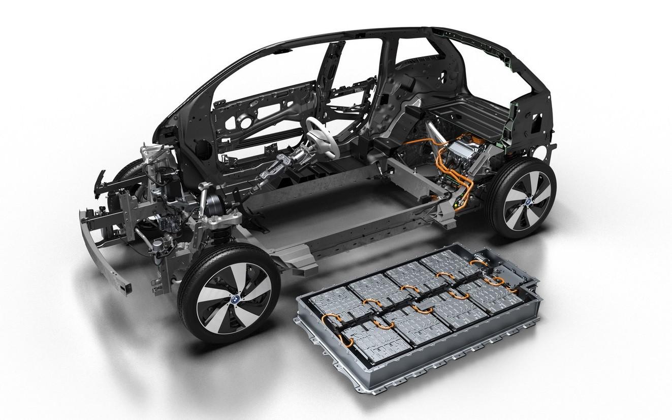 cajas para baterías de coches eléctricos