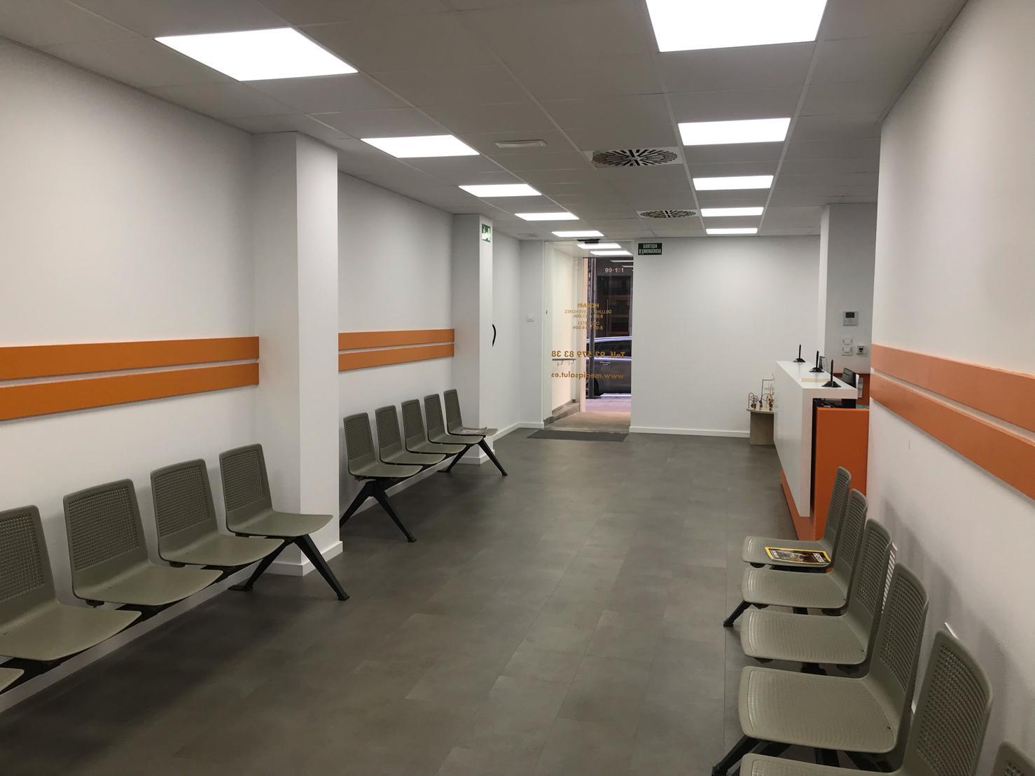 centro médico en mollet recepción