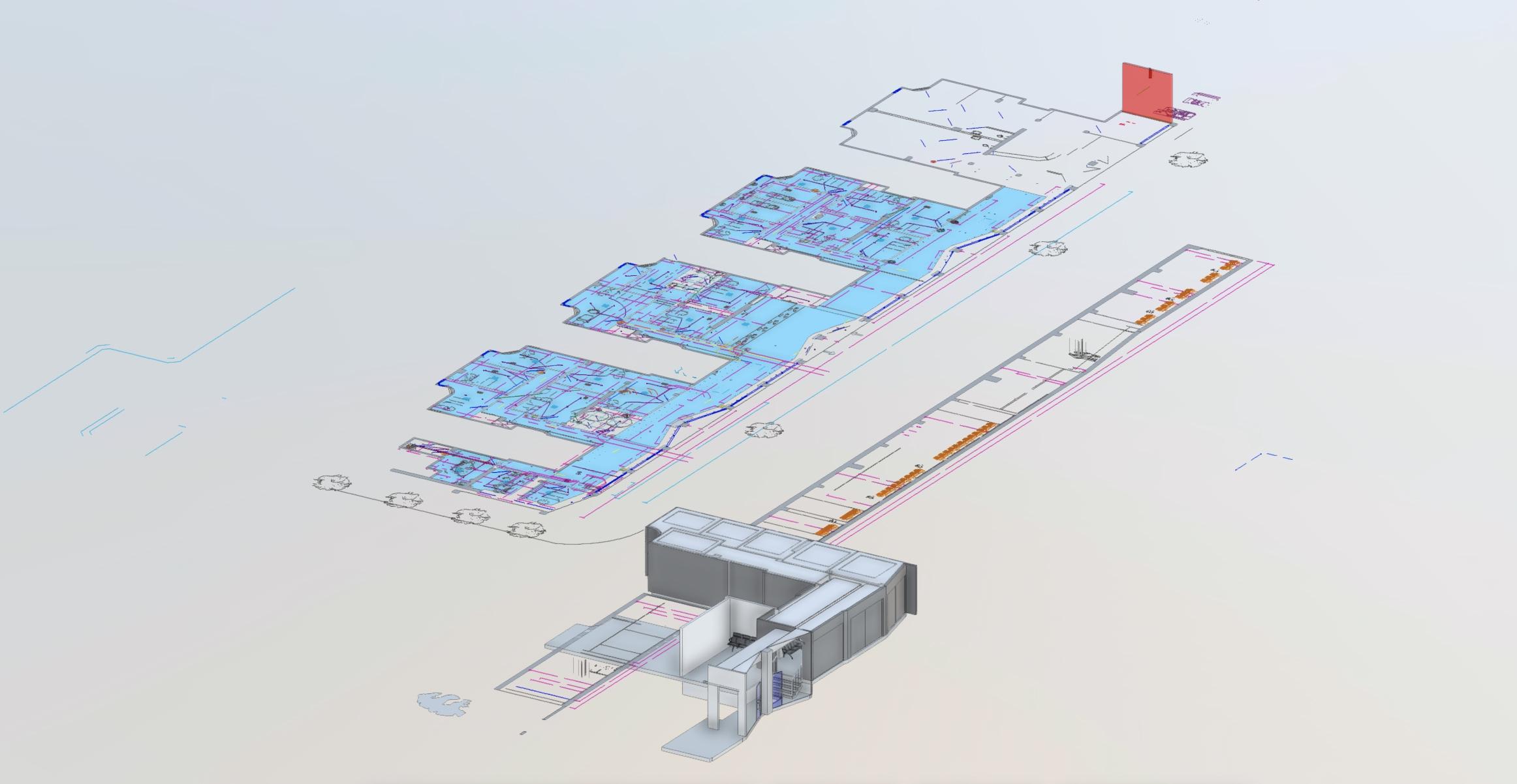 Centro médico en Sabadell planos BIM