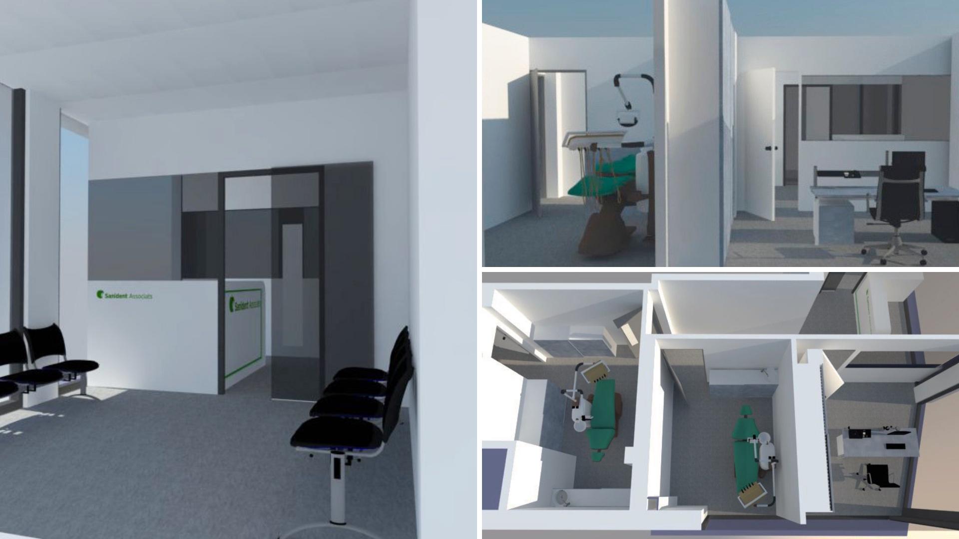 Centro médico en Sabadell renders