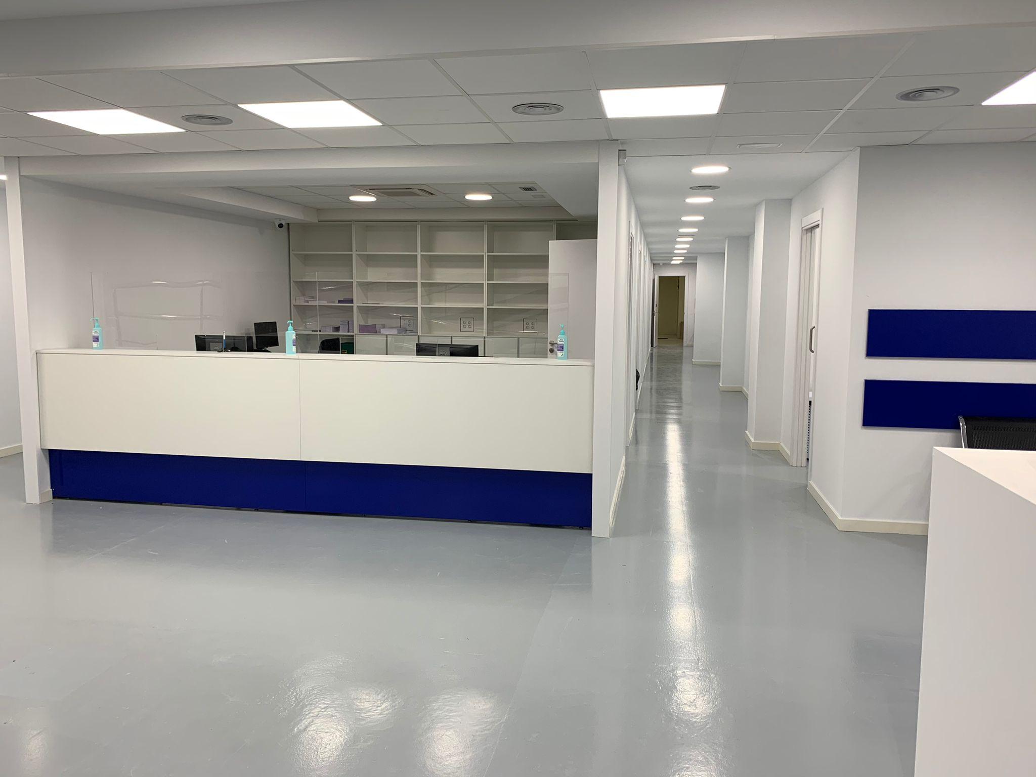 Centro médico Sant Joan Despí recepción 3
