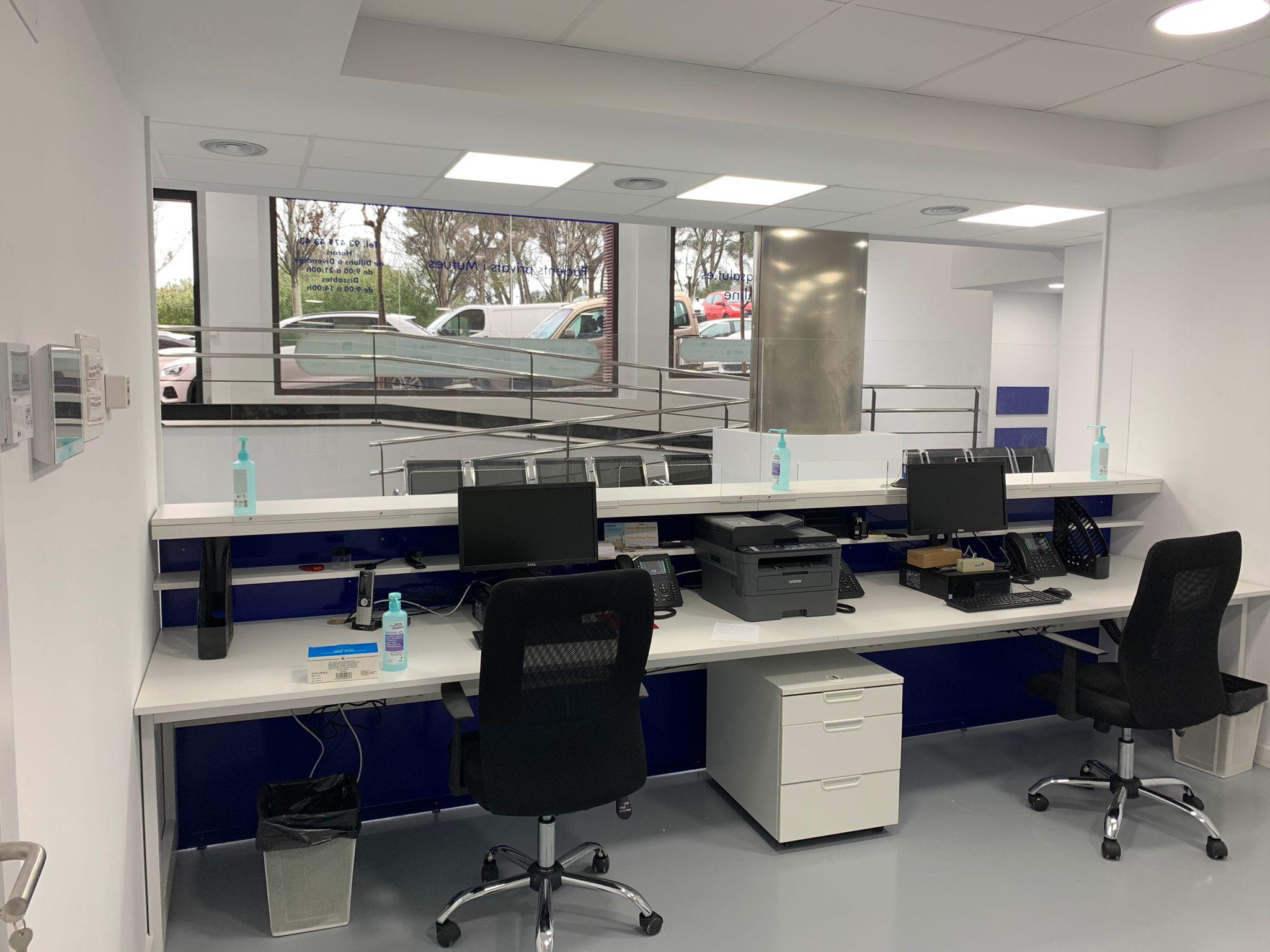 Centro médico Sant Joan Despí recepción 4