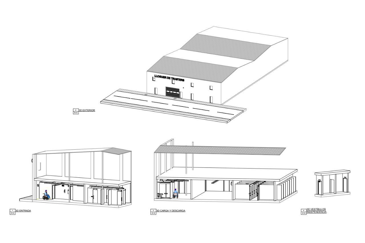 construcción de trasteros plano 2