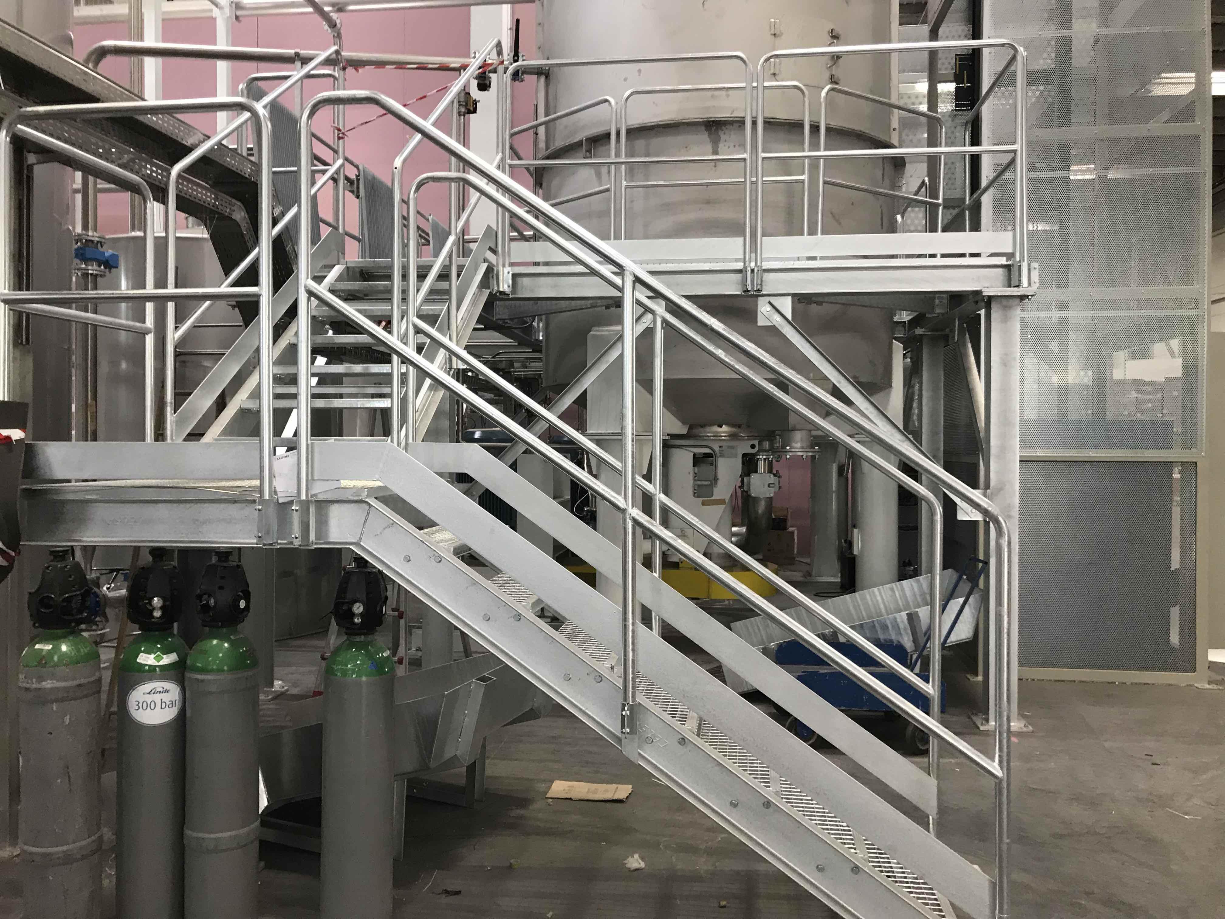 estructura pulpers escalera