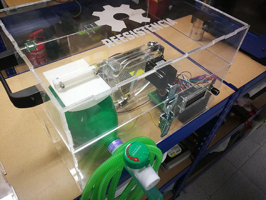 Impresoras 3D coronavirus