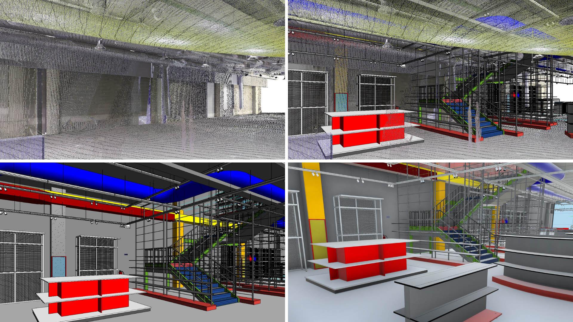 Motocard Badalona transformación 3D