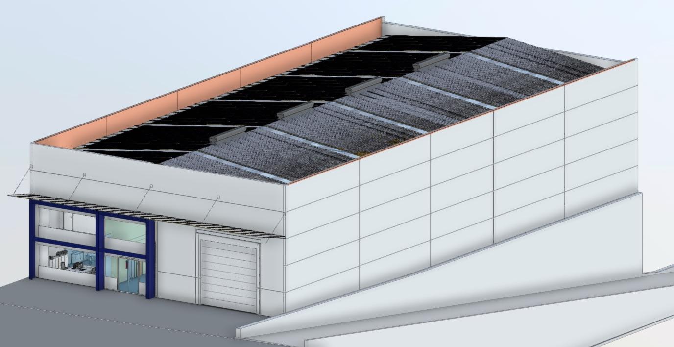 nave chorreados rubi exterior techo