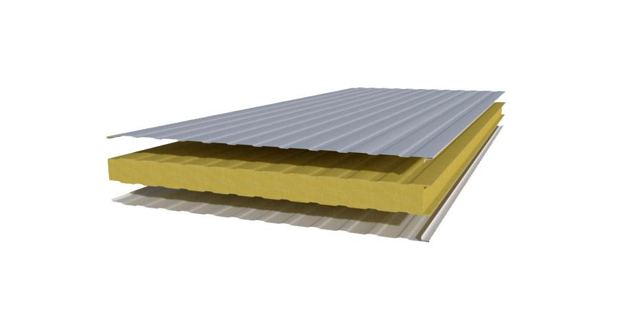Cambio de cubierta panel de aislamiento