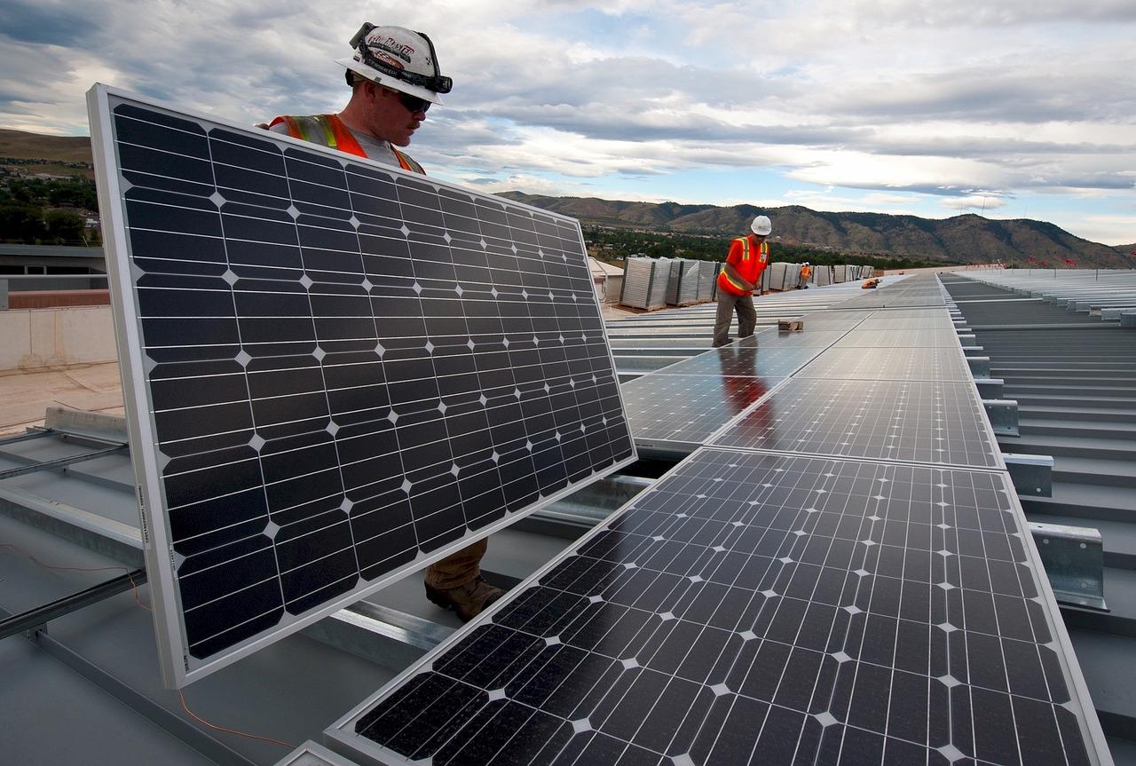 placas solares en empresas