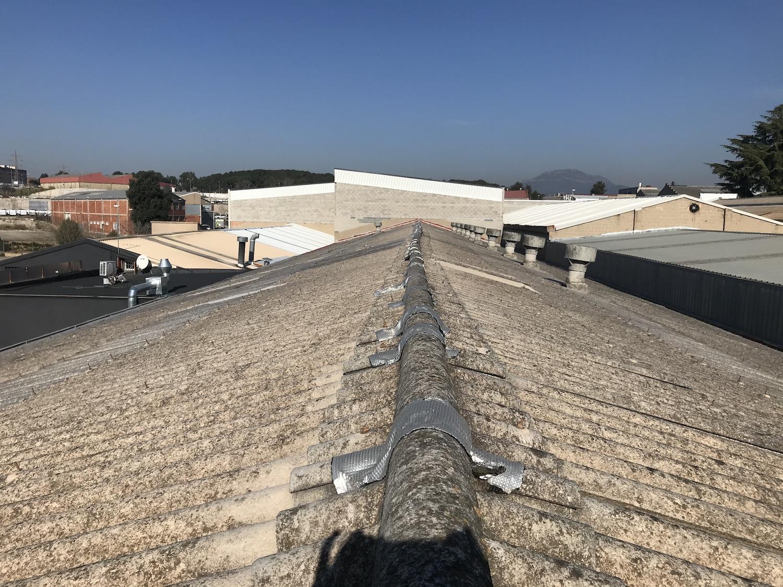 Rehabilitación nave industrial amianto