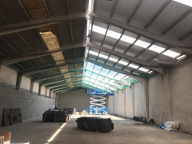 Rehabilitación nave industrial obras techo 3