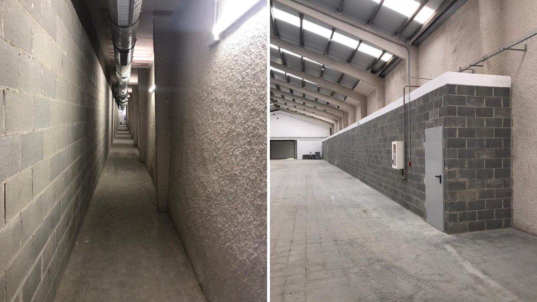 Rehabilitación nave industrial túnel 4