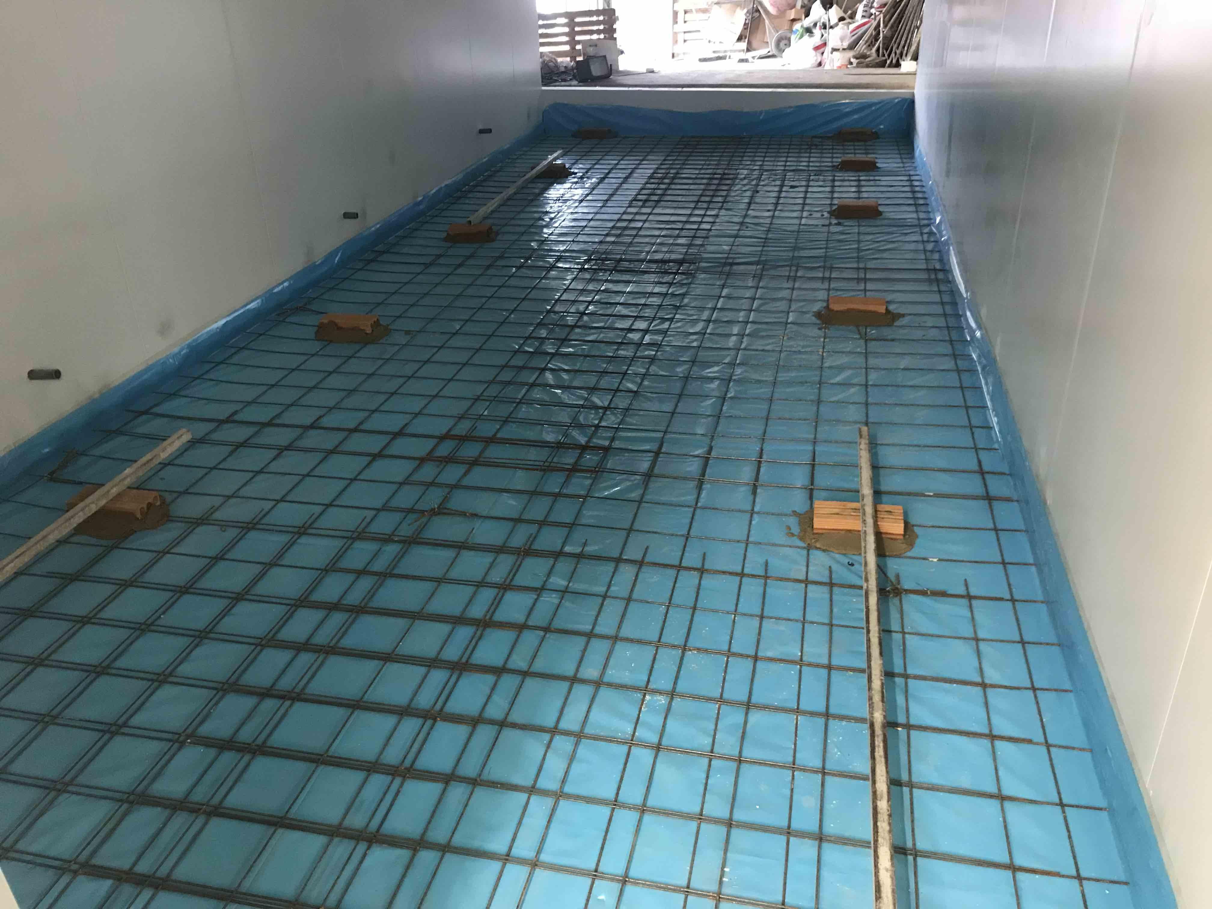 túnel de congelación obras 5