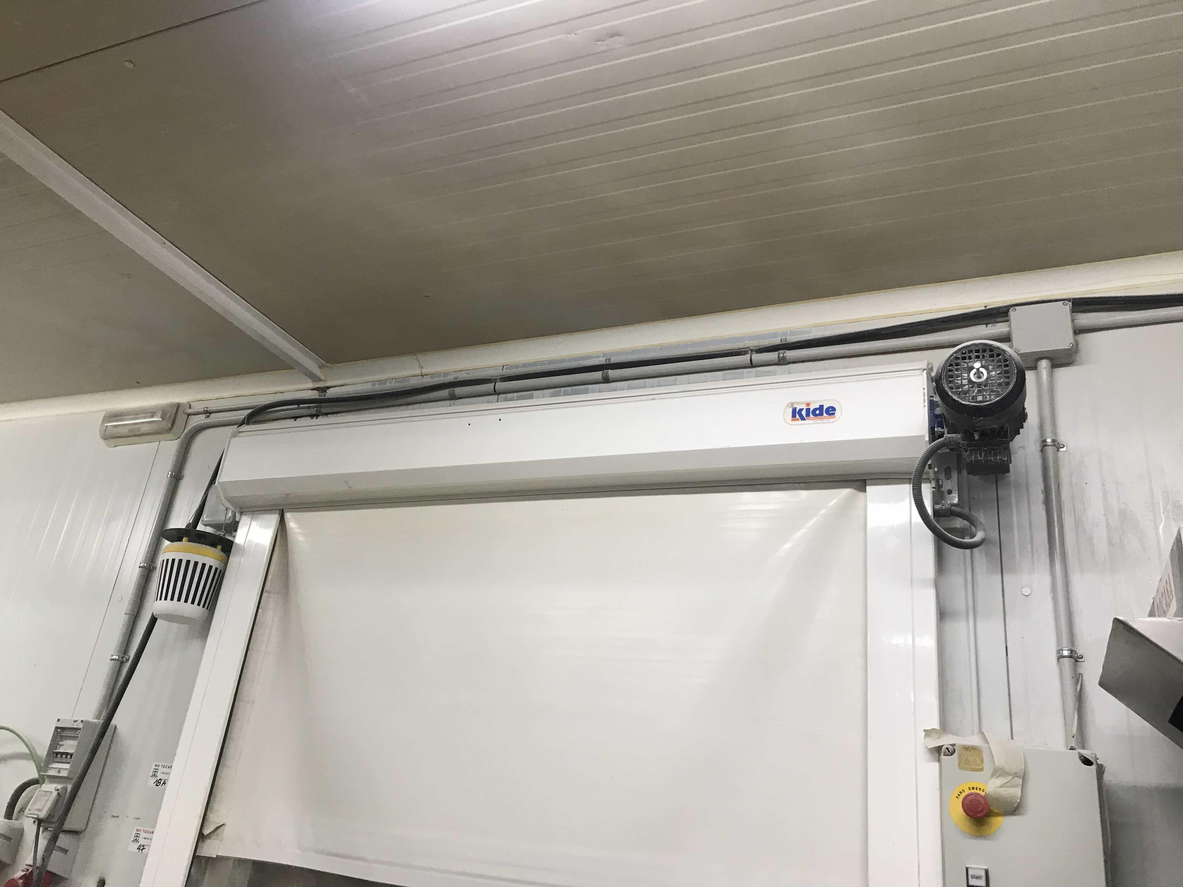 túnel de congelación puerta