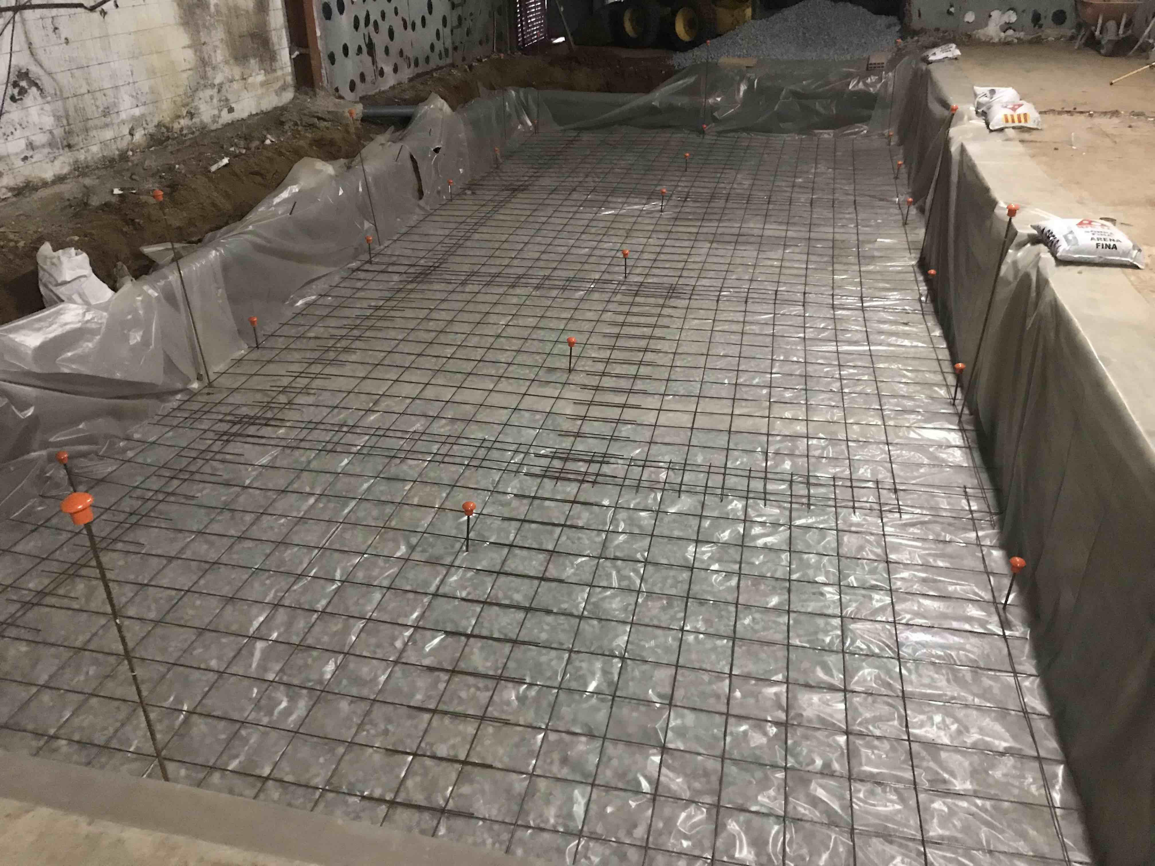 túnel de congelación obras 1